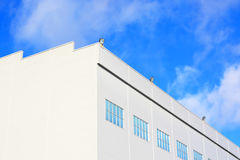 Entrepôt industriel Photographie stock