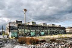 Entrepôt industriel abandonné Photos libres de droits