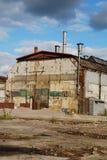 Entrepôt industriel abandonné Photo stock