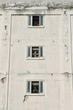 Entrepôt Windows avec des ventilateurs Images libres de droits