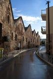 Entrepôts en pierre antiques Image libre de droits