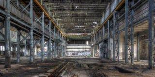 Entrepôt abandonné Photo stock