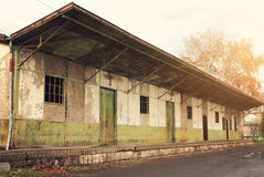 Entrepôt abandonné Photos libres de droits