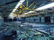 Entrepôt abandonné Image libre de droits
