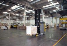 Entrepôt automatisé (papier) Image stock