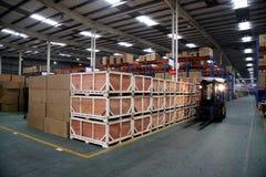 Entrepôt de Chongqing Minsheng Logistics Auto Parts Photographie stock