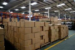 Entrepôt de Chongqing Minsheng Logistics Auto Parts Images stock