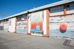 Entrepôt de dock photographie stock