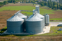 Entrepôt de grain Image stock
