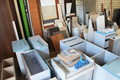 Entrepôt de meubles Images libres de droits