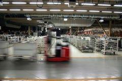 Entrepôt de pièces d'auto de Chongqing Minsheng Logistics Baotou Branch images stock
