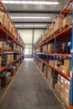Entrepôt de pièces d'auto de Chongqing Minsheng Logistics Baotou Branch Photo libre de droits