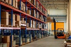Entrepôt de pièces d'auto de Chongqing Minsheng Logistics Beijing Branch Photographie stock libre de droits