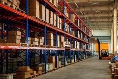 Entrepôt de pièces d'auto de Chongqing Minsheng Logistics Beijing Branch Photo stock