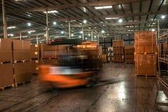 Entrepôt de pièces d'auto de Chongqing Minsheng Logistics Chongqing Branch Photographie stock libre de droits