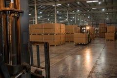 Entrepôt de pièces d'auto de Chongqing Minsheng Logistics Chongqing Branch Image stock