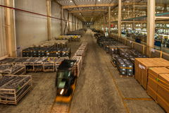 Entrepôt de pièces d'auto de Chongqing Minsheng Logistics Chongqing Branch Images stock