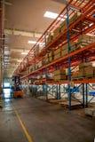 Entrepôt de pièces d'auto de Chongqing Minsheng Logistics Beijing Branch Photos stock