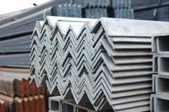 Entrepôt de stockage en acier Photo libre de droits