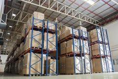 Entrepôt et matériel Image stock