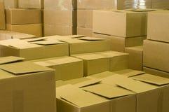 Entrepôt industriel Photo libre de droits