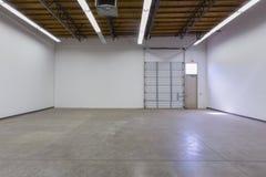 Entrepôt vide Photographie stock