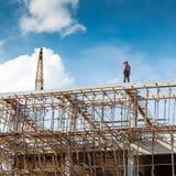 Entrepreneur de bâtiment Photos stock