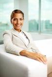 Entrepreneur féminin Photographie stock libre de droits