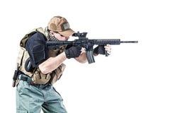 Entrepreneur militaire privé PMC photo libre de droits