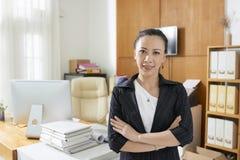 Entrepreneur positif photo stock