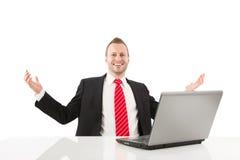 Entrepreneur réussi photo libre de droits