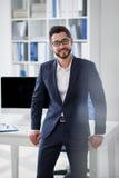 Entrepreneur réussi photographie stock
