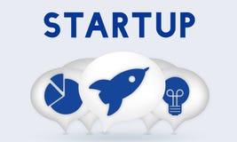 Entrepreneur Target Strategy Concept d'affaires Image libre de droits