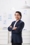 Entrepreneur vietnamien sûr photos stock
