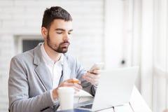 Entrepreneur working Stock Photos