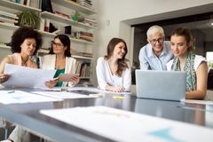 Entrepreneurs and business people conference in meeting room. Entrepreneurs and business people conference in modern meeting room royalty free stock images