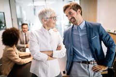 Entrepreneurs and business people conference in meeting room. Entrepreneurs and business people conference in modern meeting room royalty free stock photography