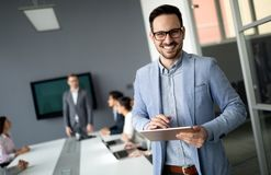 Entrepreneurs and business people conference in modern office. Entrepreneurs and young business people conference in modern office stock images