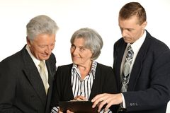 Entrepreneurs to discuss current issues stock photos