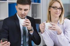 Entrepreneurs at work Stock Images