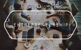 Entrepreneurship Business Organiser Startup Risk Concept Royalty Free Stock Photo
