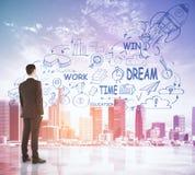 Entrepreneurship concept Royalty Free Stock Images