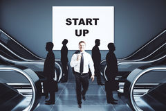 Entrepreneurship concept stock illustration