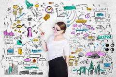 Entrepreneurship concept Stock Photo