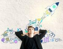 Entrepreneurship concept Stock Photography