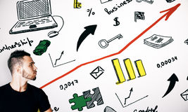 Entrepreneurship concept Stock Images
