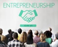 Entrepreneurship Corporate Enterprise Dealer Concept Royalty Free Stock Photos
