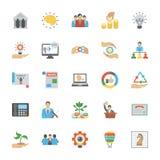 Entrepreneurship Flat Icons Pack Royalty Free Stock Photo
