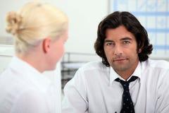 Entreprise de recrutement Image stock