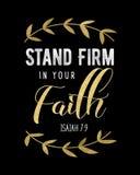 Entreprise de support dans votre foi Photo libre de droits